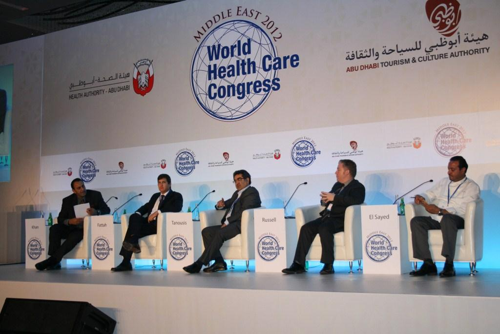 Magentity's Jason Russell talks new media trends on the panel at the World Health Congress